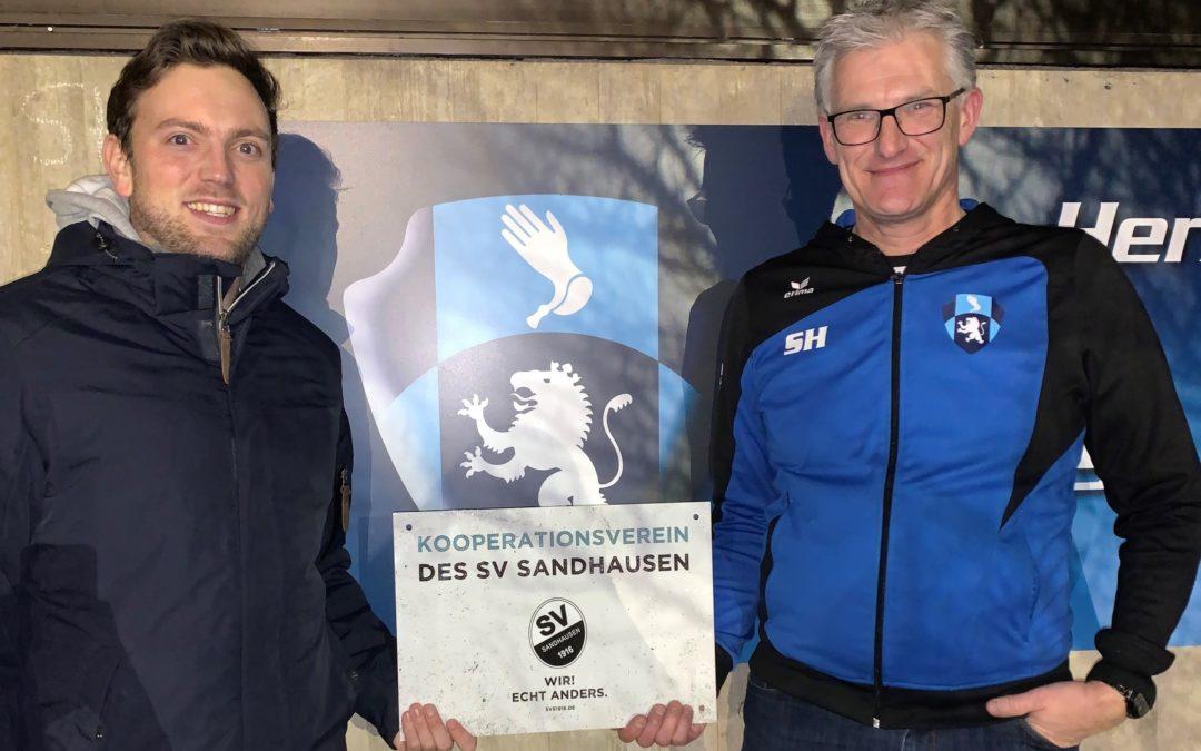 Januar 2020 Kooperation mit dem SV Sandhausen