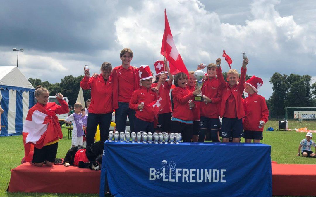 U10 des TSV Handschuhsheim Europameister